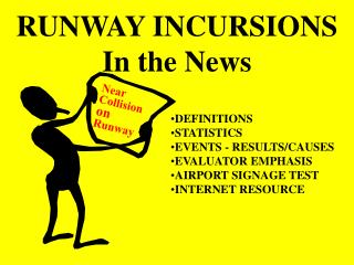 RUNWAY INCURSIONS  In the News