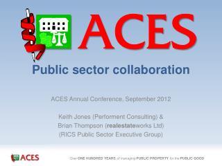 Public sector collaboration
