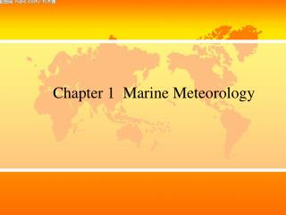Chapter 1  Marine Meteorology