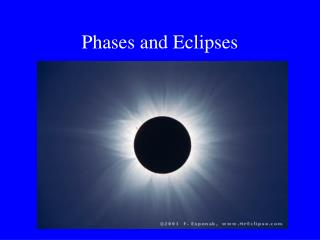 Phases and Eclipses