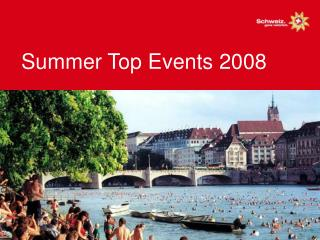 Summer Top Events 2008