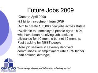 Future Jobs 2009
