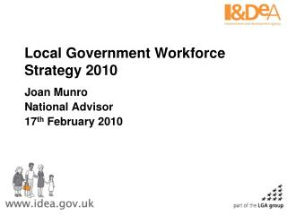 Local Government Workforce Strategy 2010