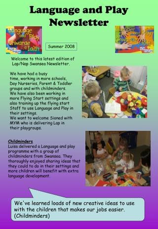 Language and Play Newsletter