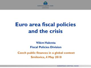 Euro area fiscal policies and the crisis