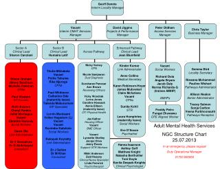 Adult Mental Health Services NGC Structure Chart 25.07.2013 In an emergency, please request