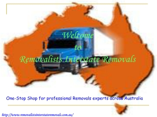 Removalists Interstate Removals Company