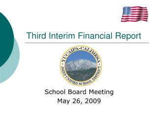 Third Interim Financial Report