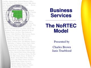 Business Services The NoRTEC Model