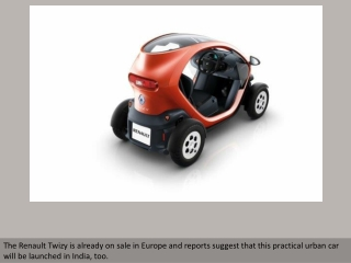 Small Is Beautiful: The Renault Twizy EV