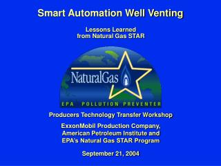 Smart Automation Well Venting