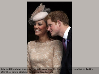 Kate and Harry: Every lensman's delight