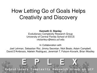 How Letting Go of Goals Helps Creativity and Discovery