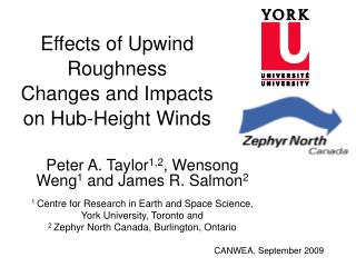 Effects of Upwind Roughness Changes and Impacts on Hub-Height Winds