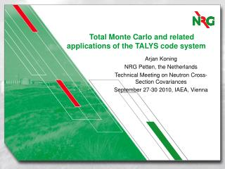 Total Monte Carlo and related applications of the TALYS code system