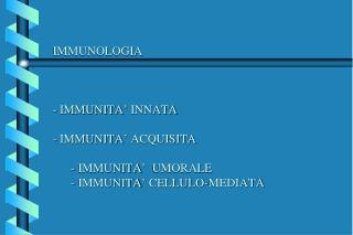 Anticorpi: immunoistochimica