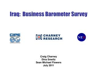 Iraq:  Business Barometer Survey