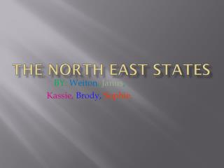 The North east States
