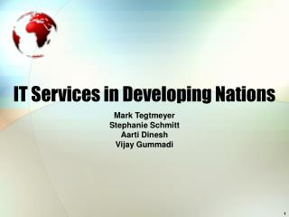 IT Services in Developing Nations