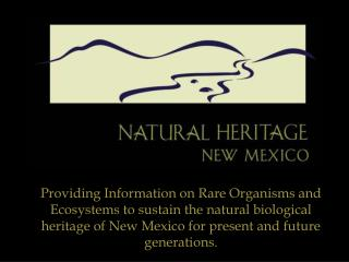 Natural  Heritage  New Mexico