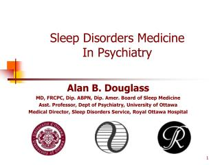 Sleep Disorders Medicine In Psychiatry