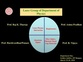 Laser Group of Department of Physics