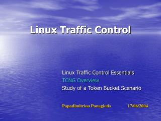 Linux Traffic Control
