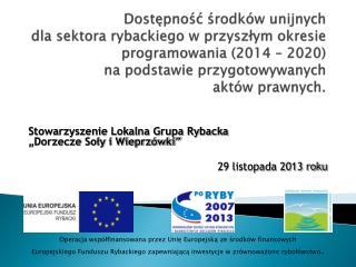 Zreformowana Wspólna Polityka Rybacka 2014-2020: