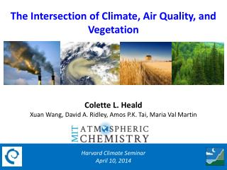 The Intersection of Climate, Air Quality, and Vegetation