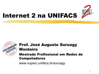 Internet 2 na UNIFACS