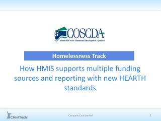 How HMIS supports multiple funding sources and reporting with new HEARTH standards
