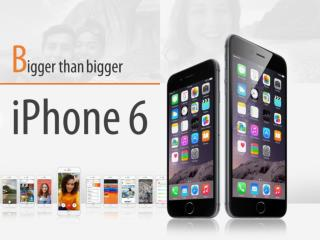 Apple iPhone 6 - Bigger than bigger
