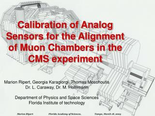 Calibration of Analog Sensors for the Alignment of Muon Chambers in the CMS experiment