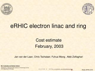 eRHIC electron linac and ring