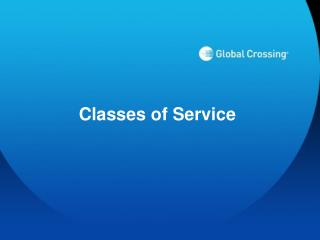 Classes of Service
