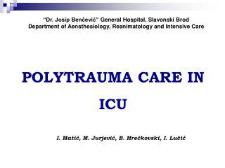 """Dr. Josip Benčević"" General Hospital, Slavonski Brod"