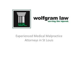 Wolfgram Law - Experienced Medical Malpractice Attorneys