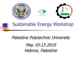 Sustainable Energy Workshop