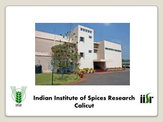 Indian Institute of Spices Research Calicut