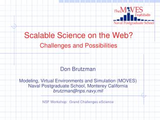 Scalable Science on the Web? Challenges and Possibilities