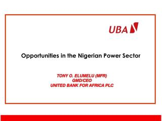 Opportunities in the Nigerian Power Sector