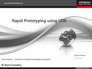Rapid Prototyping using UDK