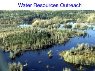 Water Resources Outreach