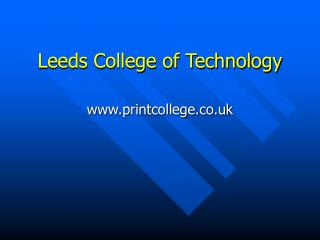 Leeds College of Technology