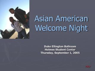 Asian American Welcome Night