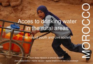 Acces to drinking water in the rural areas