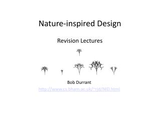 Nature-inspired Design