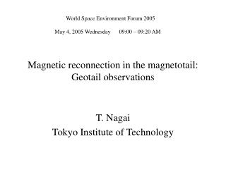 Magnetic reconnection in the magnetotail:  Geotail observations