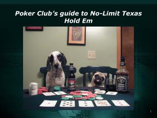 Poker Club's guide to No-Limit Texas Hold Em