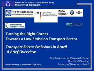 Transport Sector Emissions in Brazil  A Brief Overview
